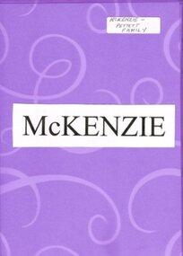 Family History, McKenzie, c.2007