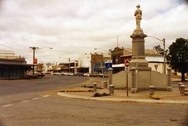 Photograph, War Memorial High St Charlton c. 1990