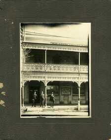 Photograph, State Savings Bank of Victoria, Charlton branch 1922