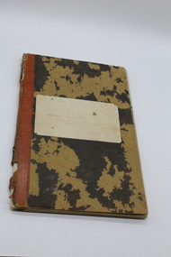 Cash Book, North Eastern District Fruit Growers Association