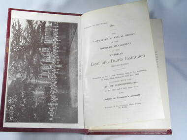 Book, Reports V.D. & D.I. 1919 to 1924
