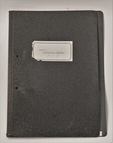 Folder, Investigation Committee reports regarding future and policy for St Kilda rd policy, 1970-1973, started in 1970?