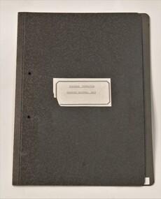 Folder, Deafness Foundation - proposed National body, 1971-1974