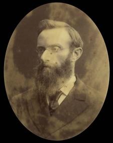 Photograph, Reverend John Gordon Mackie, 1888