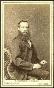 Photograph, Portrait of a man, 1857-1864?
