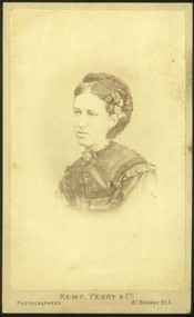Photograph, Portrait of a woman, 1873-1875