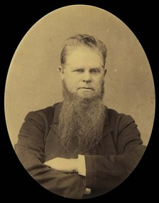 Photograph, Reverend William Moss, 1888