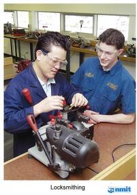 Photograph: NMIT 2000- Locksmithing students