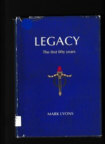 Book, Mark Lyons, Legacy: The first fifty years, 1978
