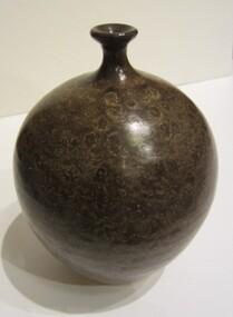 pottery vase, about 1970