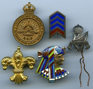 Badge, medal collection
