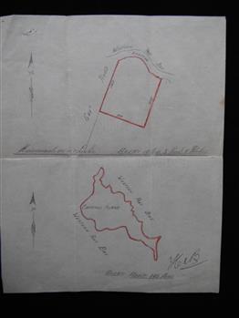 Hand drawn map of Churchill Island