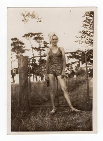 Photograph of Valda Treadwell, c.1940