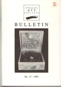Women's Art Register Bulletin
