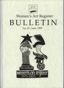 Women's Art Register Bulletin, Women's Art Register Bulletin No. 23 - June 1995