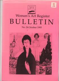 Women's Art Register Bulletin, Women's Art Register Bulletin No. 24 - October 1995