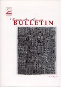 Women's Art Register Bulletin, Women's Art Register Bulletin No. 25 - May 1996