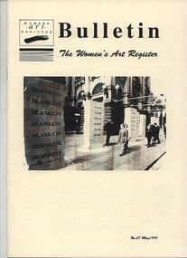 Women's Art Register Bulletin, Women's Art Register Bulletin No. 27 -  1998