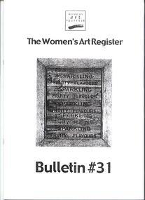 Women's Art Register Bulletin, The Bulletin, January 2000