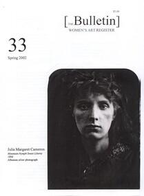 Women's Art Register Bulletin, 2002
