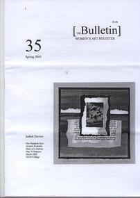 Women's Art Register Bulletin, 2003