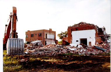 2231.01 - Demolition of the Missions to Seamen building, October 1995
