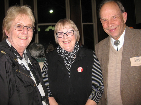 3243.08 - (?), Susan Reidy and Phil King, 20th Anniversary of the PMHPS at the AGM, 2013