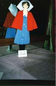 Registered Nurse red cape, Ball & Welch Ltd Melbourne