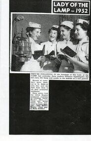 Nurse Graduation photo 1952, photograph, 1952