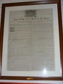 Articles of War 1780