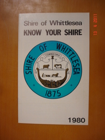 Shire of Whittlesea - Know Your Shire 1980