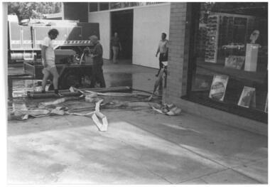 Photograph - washing hoses