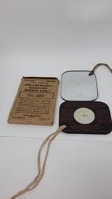 Emergency Signalling Mirror, Circa 1940's