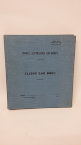 Flying Log Book, April 1937