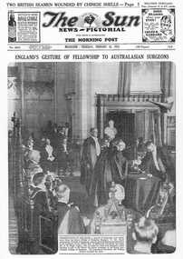 Herald Sun article Presentation of the mace to RACS