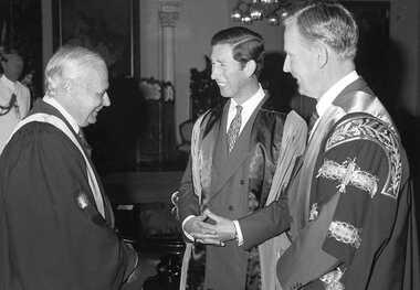 Prince Charles visits RACS
