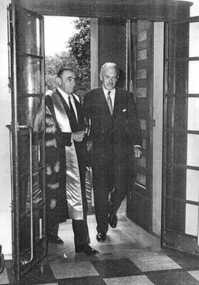Lord Casey visits RACS 1965