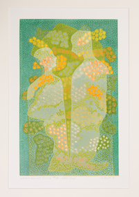 Print, Nanette Bourke, Watch Over All Living Things, 1996