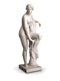 Sculpture - Ettore Cadorin, Venus Tying her Sandal, 1914