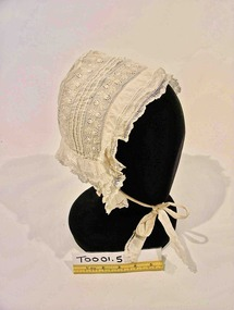 Headwear - Bonnet, Late 19th Century
