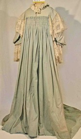 Clothing - Dressing gown, Peignoir, Mid 19th Century