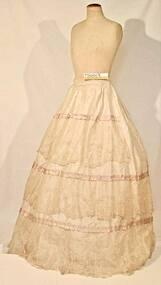 Clothing - Crinoline skirt, Mid 19th century