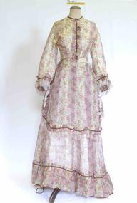 Dress, Day dress, circa 1870
