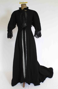 Clothing - Dress, Visiting dress, late 19th century