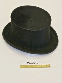 Hat, Top hat, late 19th - early 20th century