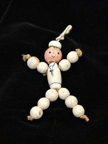 Doll, Bead doll, c.1937