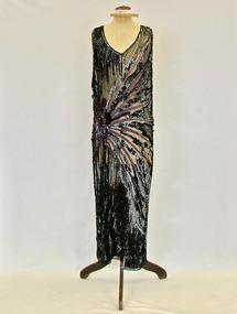 Dress, Evening dress, 1920s