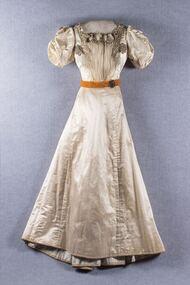 Dress, Evening dress, c.1895
