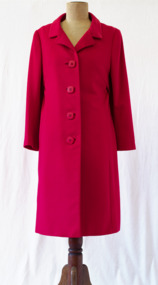 Coat, circa mid-1950s to early 1960s