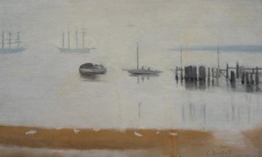 Painting, Clarice Beckett, Near Beaumaris, c. 1927